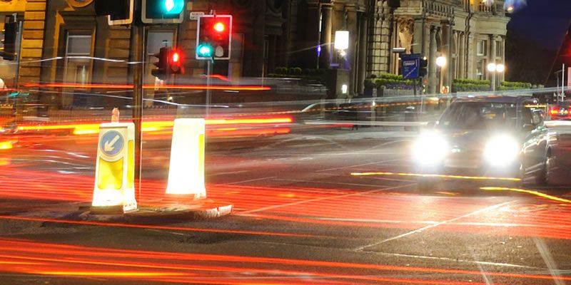 Road traffic junction
