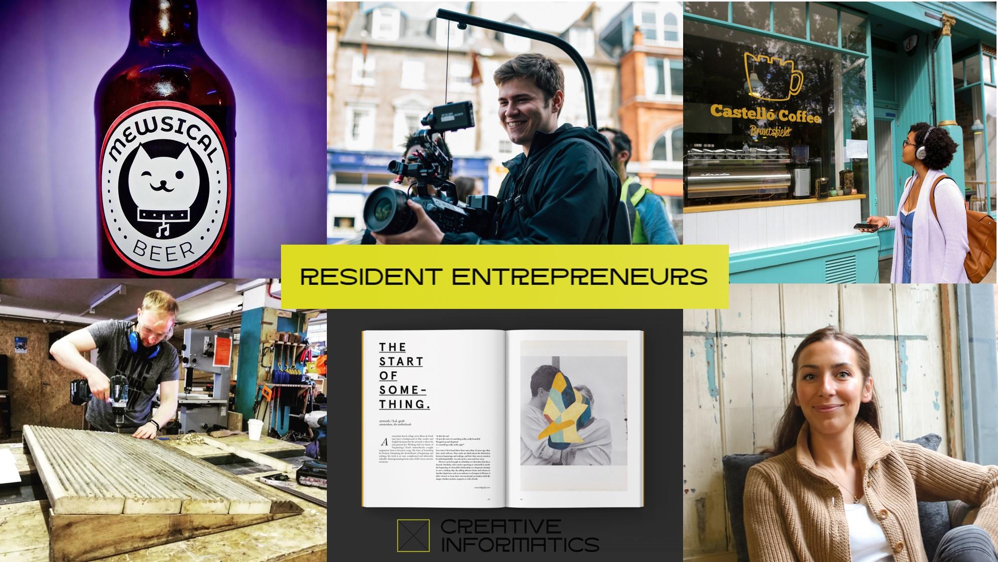 Creative Informatics call for Resident Entrepreneurs