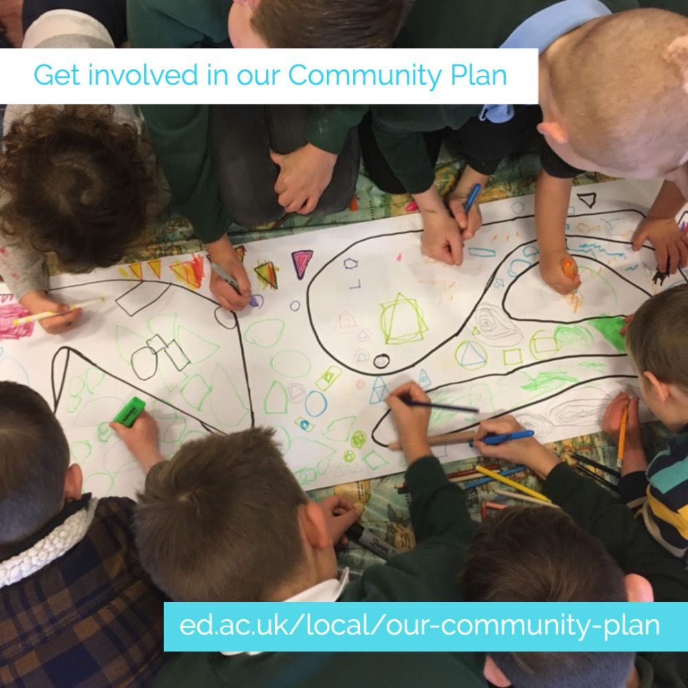 University's new Community Plan puts EFI at the heart of civic commitment