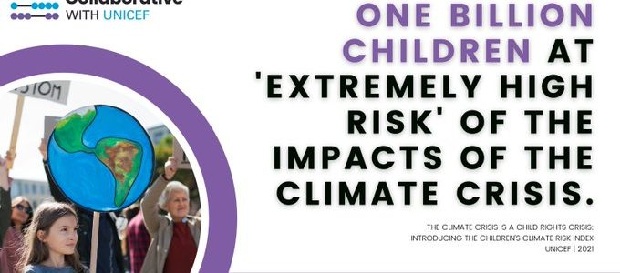 Children at extreme risk of the impacts of climate emergency